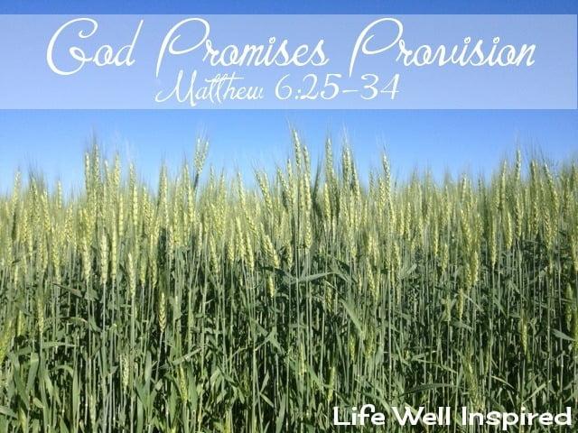 God Promises Provision