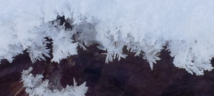 Seeing God in Ice Crystals