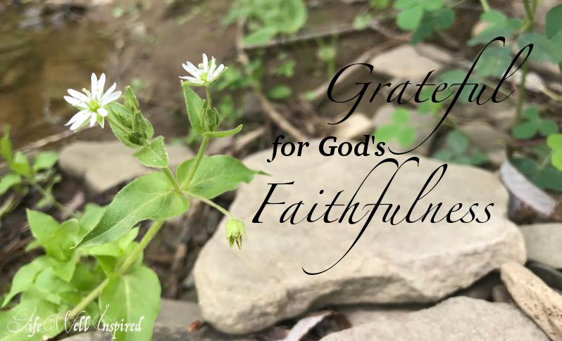 Grateful for God's Faithfulness